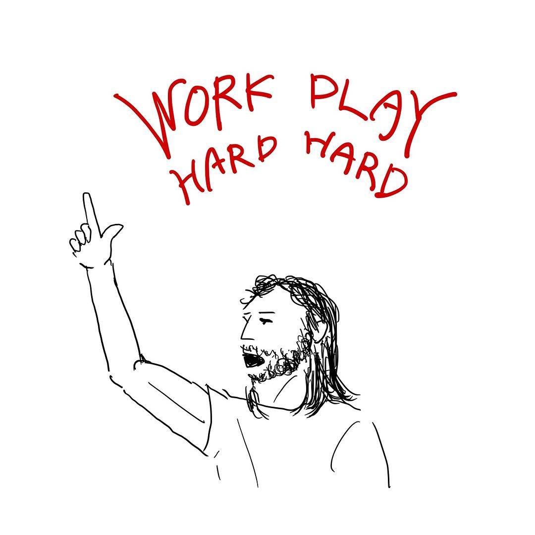 iPad Pro Work#14 David Guetta - Play Hard (feat. Ne-Yo & Akon)